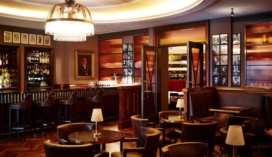 The american bar classic cocktail bar in mayfair london for American cuisine in london